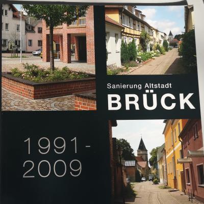 Foto zur Meldung: Die Sanierung der Altstadt Brück