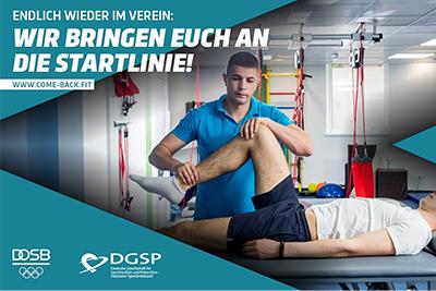 """Bild der Meldung: DOSB-Kampagne: """"Comeback der Bewegung"""" soll Bürger*innen zu körperlicher Aktivität bringen"""
