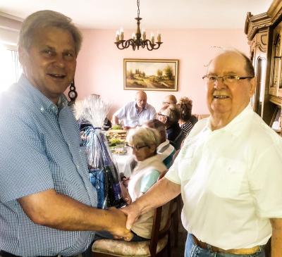 Grebser Politiker-Urgestein Willi Insel wird 80
