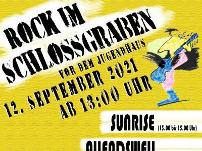 Vorschaubild der Meldung: Rock im Schlossgraben findet statt!