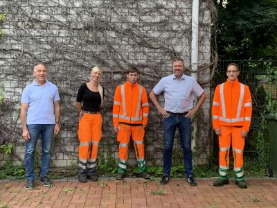 Foto zur Meldung: Verstärkung für den Baubetriebshof