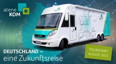 ateneKOM-Infomobil in Schafflund