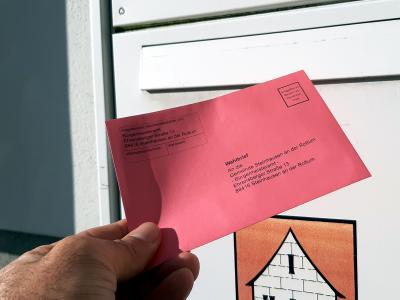 Beantragung von Briefwahlunterlagen für die Bundestagswahl am 26. September 2021