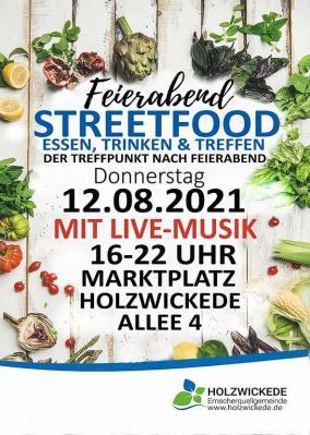 Foto zur Meldung: Feierabend Streetfood-Markt geht wieder los!