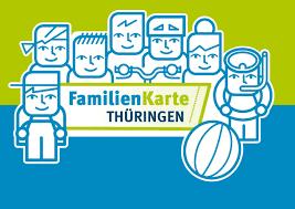 Familienkarte Thüringen wird in der Tourist-Information zu den Öffnungszeiten an die Familien ausgegeben