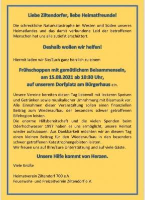 Foto zu Meldung: Hochwasserhilfe der Gemeinde Ziltendorf