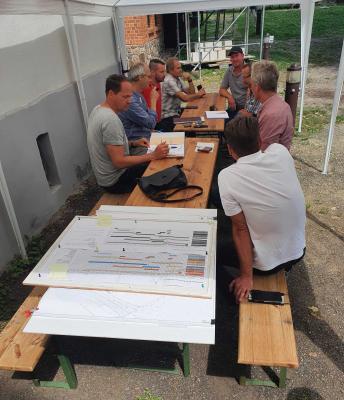 Foto zur Meldung: Bauberatung auf der Burg Beeskow