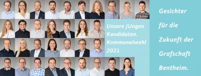 """""""Gemeinsam. Glaubwürdig. Für die Zukunft der Grafschaft Bentheim."""" - Junge Union Grafschaft Bentheim präsentiert das Wahlprogramm 2021"""