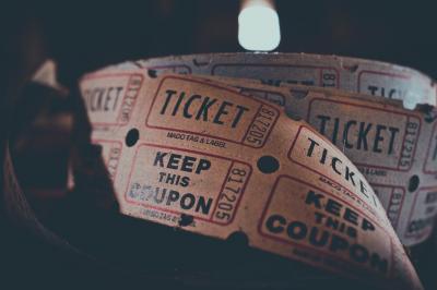 Ticketverkauf in der Stadtbibliothek