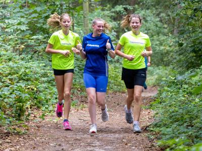 Foto zur Meldung: Waldlauf in Laage - da läuft's sich gut