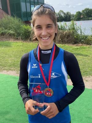 Foto zur Meldung: Finja Hermanussen vom KC Limmer holt 6 Medallien bei DM!