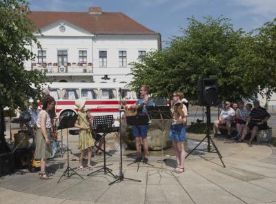 Rückblick auf die Pop Up-Konzerttour der Kreismusikschule Oberhavel
