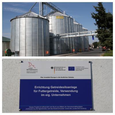 Inbetriebnahme unserer Getreidesiloanlage