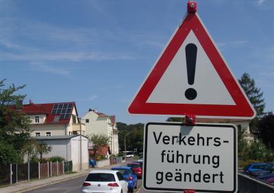 Hauptmann-Straße: Vorfahrtsregelung geändert