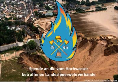 Stadtverband spendet an die vom Hochwasser betroffenen Landesfeuerwehrverbände