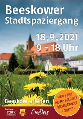 Foto zur Meldung: Beeskower Stadtspaziergang am 18.09.2021