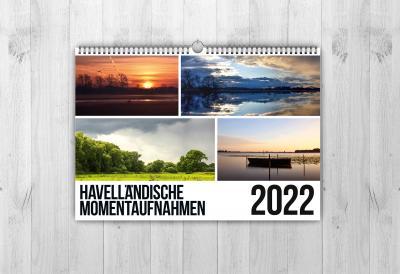 """Kalender """"Havelländische Momentaufnahmen"""" 2022"""