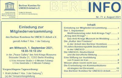 BERLIN INFO Nr. 71