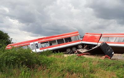 Unfall am Bahnübergang Kolbitzow