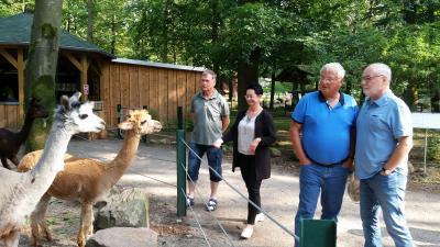 Gedankenaustausch zum Perleberger Tierpark