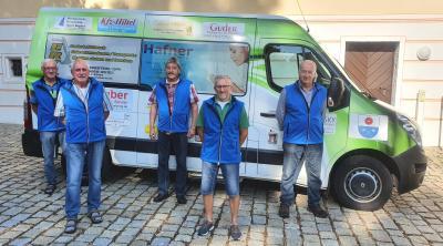 Ehrenamtliche Fahrer mit dem Bürgerbus EfA