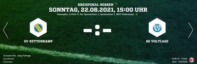 Es geht wieder los: Pokalspiel in Kettenkamp
