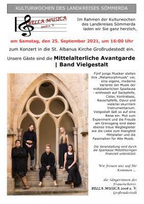 Konzert in der St. Albanus Kirche Großrudestedt