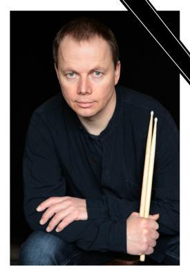 Schlagzeuglehrer Udo Bensler. Foto: Archiv