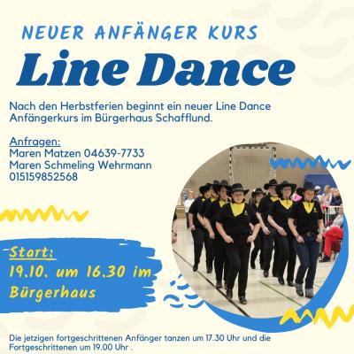 Foto zur Meldung: Neuer Anfänger-Kurs der Line Dancer