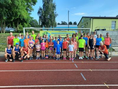 Foto zur Meldung: Sommerferiensportfestival bewegt Laager Sportler