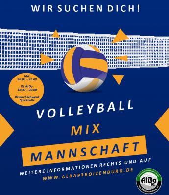 Volleyball - zusätzliche Trainingszeit!
