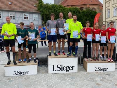 Foto zur Meldung: Bützower Citylauf mit starkem SC Laage