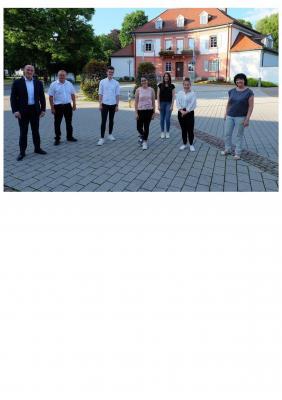Foto zur Meldung: Studierende stellen Projektarbeit zu Crossiety vor