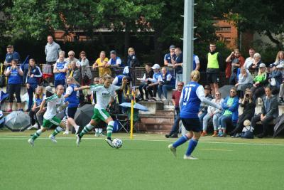 Frauen vom FSV Babelsberg 74 gewinnen 1. DFB-Pokal-Runde