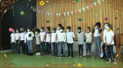 Klasse 1b - Einschulungsfeier - August 2021