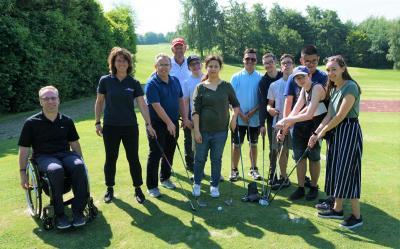 Foto zur Meldung: Das Golf-Projekt an der Theodor-Andresen-Schule