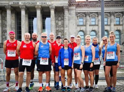Foto zur Meldung: Endlich wieder in der Hauptstadt laufen! - ein Erlebnisbericht