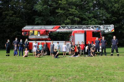 Ferienspiele bei der Freiwilligen Feuerwehr Gedern