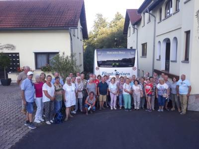 Foto zur Meldung: Busfahrt des Heimatvereines am 14.August 2021
