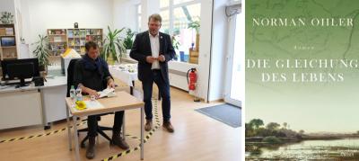 Die Gleichung des Lebens – Erste Buchlesung in der Stadtbibliothek Wriezen