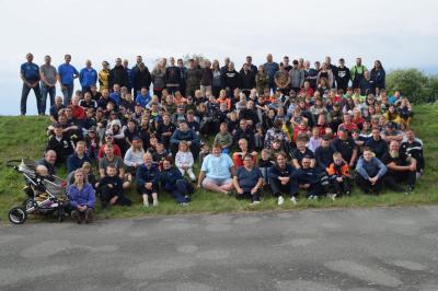 Foto zur Meldung: Zeltwochenende der Jugendfeuerwehren des Landkreises Prignitz
