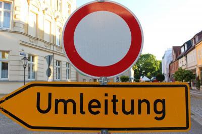 Baumaßnahme: Burgstraße ab Montag gesperrt