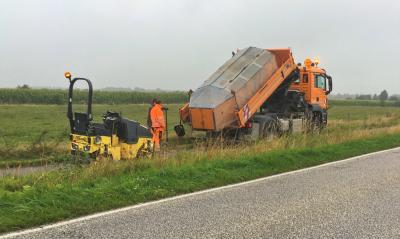 Radweg an der B5 repariert