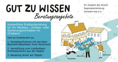 Foto zur Meldung: Hilfe und Unterstützung durch Ihre Kommune und die Baulotsinnen und Baulotsen
