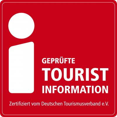 Logo i-Marke vom Deutschen Tourismusverband e.V.