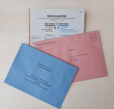 Beantragung Briefwahl