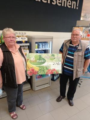 Foto zur Meldung: Wir bedanken uns für 270€ aus gespendeten Pfandbons
