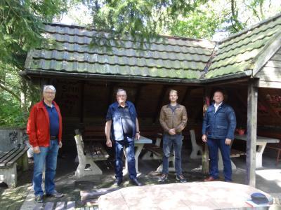 """Übergabe der """"Hütte Horster Heide"""""""
