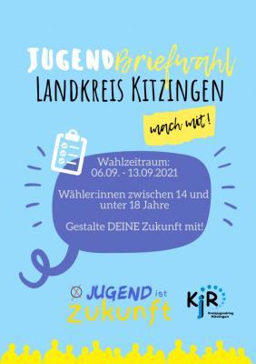 Jugendbriefwahl Landkreis Kitzingen