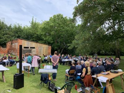 Gemeindefest in Schönermark, 22. August